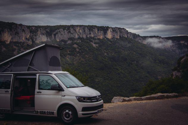 Road Trip Van en Ardèche with BlackSheep Van sylvie schneider